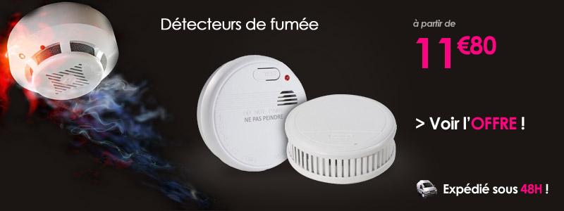 GENERIQUE Détecteur avertisseur autonome de fumée CE