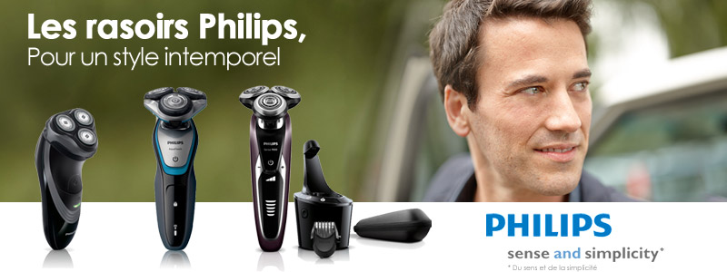 PHILIPS rasoirs