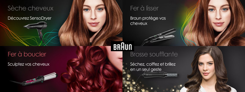 Braun Satin Hair