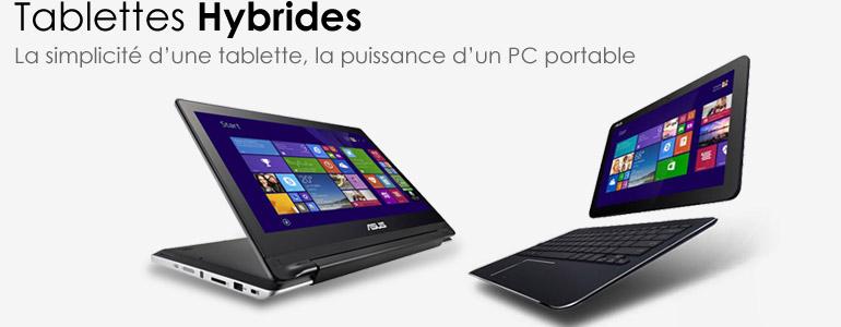Tablettes hybrides ASUS