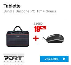 Port Designs Bundle Sacoche PC 15