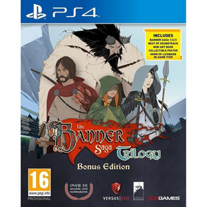 The Banner Saga Trilogy (PS4)
