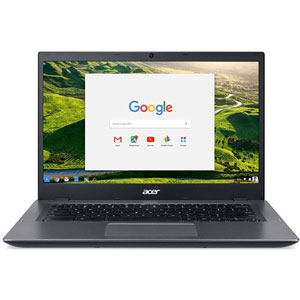 Chromebook 14 CP5-471-596L - 32Go / Noir, argent