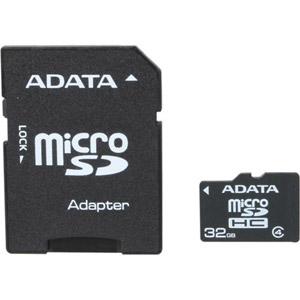photo microSDHC Class 4 32Go + Adaptateur SD