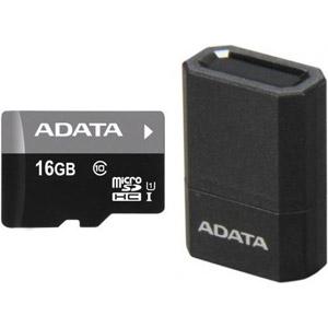 photo Premier microSD UHS-I Class10 16Go +microReader v3