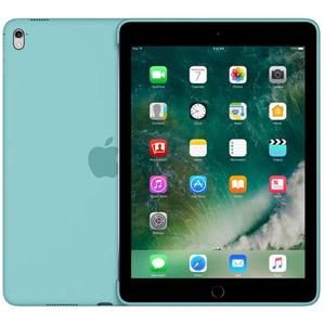 Coque silicone iPad Pro 9,7  - Bleu Méditerranée