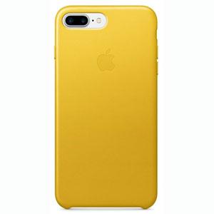 Coque cuir iPhone 7 Plus - Tournesol