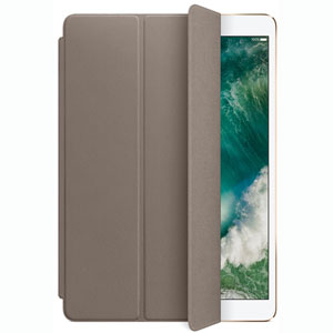 Smart Cover cuir iPad Pro 10.5  - Taupe