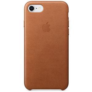 Coque en cuir pour iPhone 8 / 7 - Havane