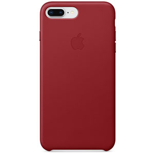 coque iphone 8 apple rouge