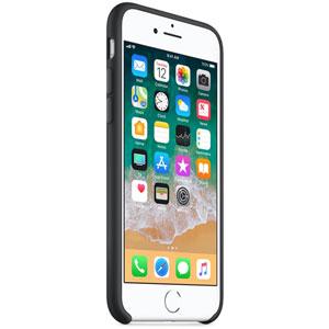 Coque en silicone pour iPhone 8 / 7 - Noir