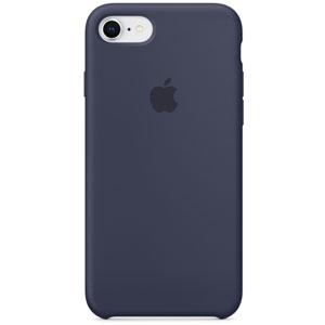 Coque en silicone pour iPhone 8 / 7 - Bleu nuit