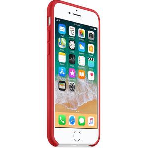 Coque en silicone pour iPhone 8 / 7 - Rouge