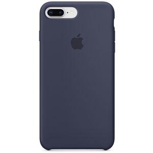Coque silicone pour iPhone 8/ 7 Plus - Bleu nuit