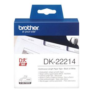 photo DK22214 - Ruban papier continu blanc résistant