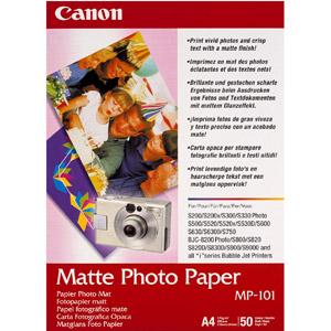 photo 50 x Papier photo mat A4 - MP-101