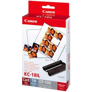photo Kit cassette à ruban d'impression + papier