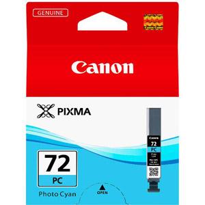 photo Cartouche d'encre Cyan Photo Pigmenté - PGI-72PC