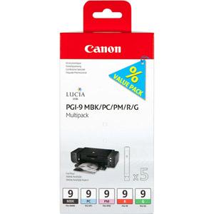 photo PGI-9 MBK/PC/PM/R/G - Multipack