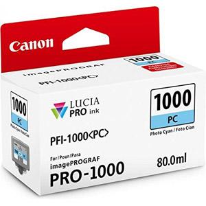 photo PFI-1000 PC - Cyan / 80 ml