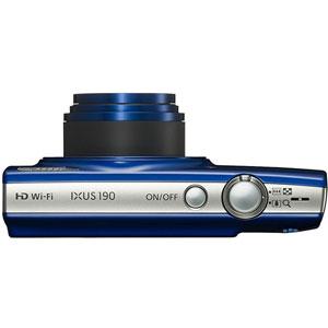 IXUS 190 Bleu + SD 8Go + Housse