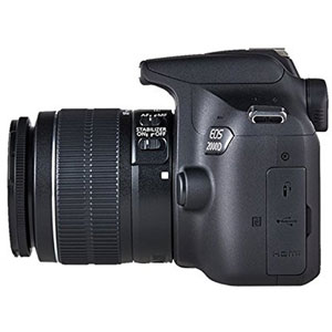 EOS 2000D + Objectif 18-55mm IS II