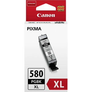 photo PGI-580PGBK XL - Noir/ 18,5 ml