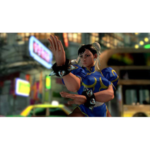 Street Fighter V pour PS4