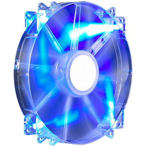 photo MegaFlow 200 Blue LED Silent Fan