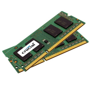 photo SO-DIMM 16Go (2 x 8Go) DDR3L PC3-10600 CL9