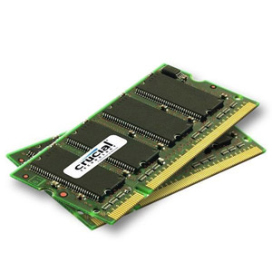 photo SO-DIMM 2 x 1 Go DDR2 PC2-5300 1.8V CL5