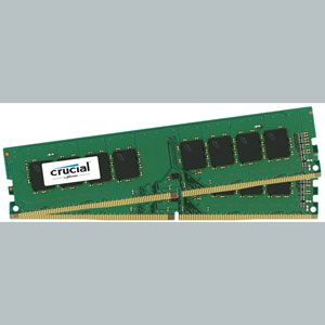 photo 32 Go (2 x 16Go) DDR4 PC4-17000 CL15