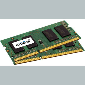 photo SO-DIMM 4 Go (2x2Go)  DDR3L PC3-12800 CL11