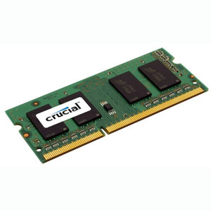 photo Crucial 2Go DDR3 PC3-12800 CL11