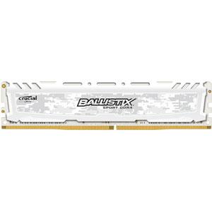 photo Ballistix SportLT Blanc 16Go DDR4 PC4-21300 CL16