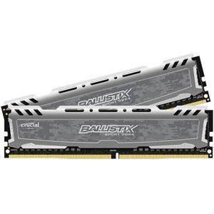 photo Ballistix SportLT Gris 2 x 8Go DDR4 PC4-19200 CL16
