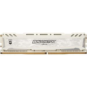 photo Ballistix Sport LT Blanc 8Go DDR4 PC4-19200 CL16
