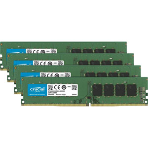 photo Crucial 4x4Go DDR4 PC4-19200 CL17