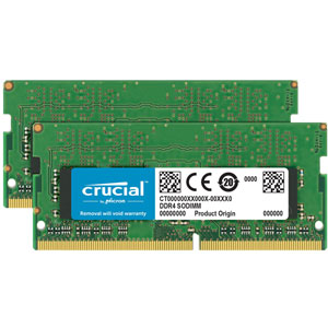 photo Crucial 2x16Go DDR4 PC4-21300 CL19