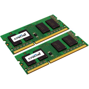 photo Crucial 2x4Go DDR3 PC3-14900 CL13