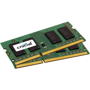 photo Crucial 2x2Go DDR3L PC3-12800 CL11