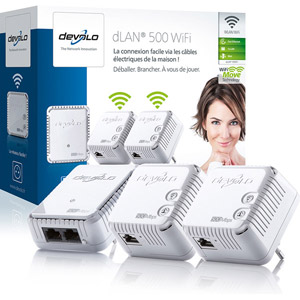 dLAN 500 WiFi Network Kit