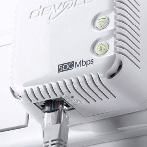 PACK 2 adaptateurs dLAN 500 WiFi