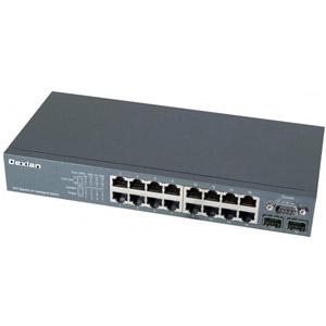 photo Switch niveau 2 16 ports Gigabit