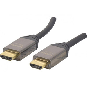 Cordon HDMI Premium HighSpeed avec Ethernet - 2m