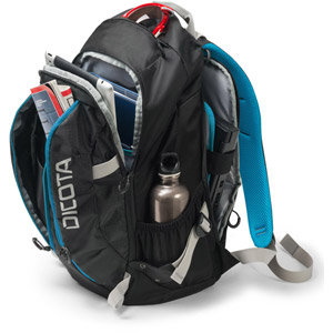 Backpack ACTIVE 17.3  - Noir/Bleu