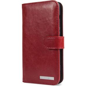 Wallet Case pour Doro 8040 - Rouge