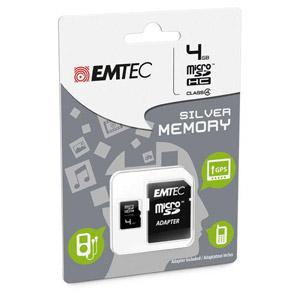 photo microSDHC 4GB Class4 Silver