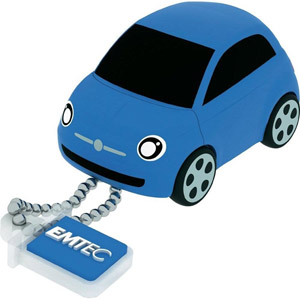 photo F101 Fiat 500 8Go Bleu