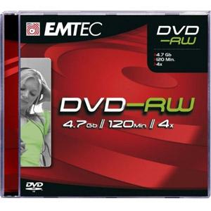 photo Pack de 10 DVD-RW 4,7GB 4X JWC